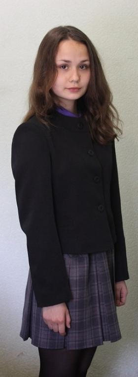 черный пиджак юбка клетка